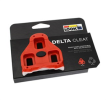 Look Delta cleats red with 9 degrees float