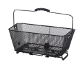 Basket for luggage racks on E-bikes