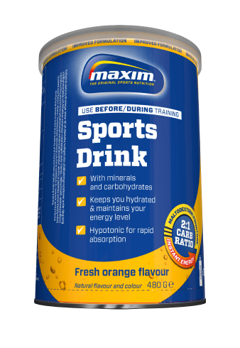 Maxim energydrink orange