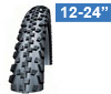 Tires for kid and junior bikes incl. prams